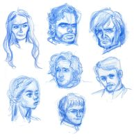 Game of Thrones characters by jay252525