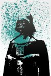 Darth Vader in Blue by nicollearl