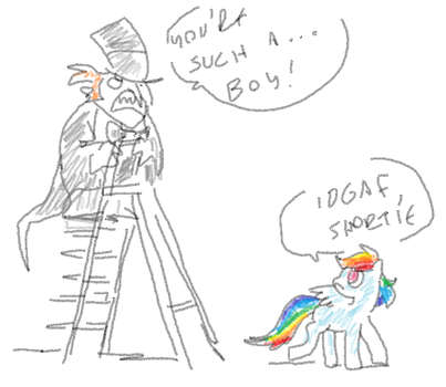 my subconscious is silly by Spoonfayse