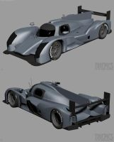 Audi R18 WIP3 by The-IC