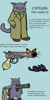 CATGUN: THE GUNCAT by Okk