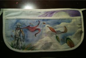 Canvas Pouch~ Full View of the Front by Yavanni