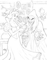 Snow White - lines by jpzilla