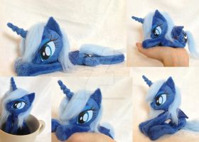 Princess Luna pocket size beanie by Epicrainbowcrafts