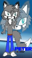 Peter the Wolf COLORED 8D by PhoenixManX-XL
