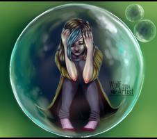 OC : nonexistence by ScribbleWoof