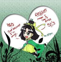 Yeah, so what, Buttercup? by rychi