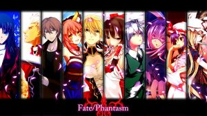 Fate/Phantasm - All Stars Cast by Terminator98