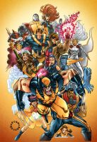 The X-Men by Gabriel-Cassata