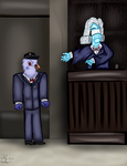 CJ and a Legal Eagle by ChiefLucarioOfficer