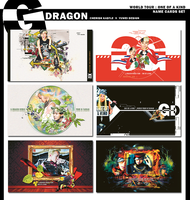 G-DRAGON 2013 ONE OF A KIND CONCERT NAME CARDS SET by YUWEI2304