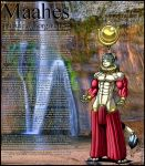 Casid Gods: Maahes 002 by DocWolph