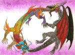 Dancing Dragons by Fernoll