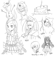 LS doodles by dondororo