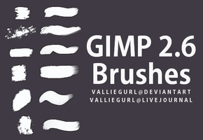 GIMP Brushes by Valliegurl
