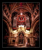 Cathedral of Lausanne II by calimer00