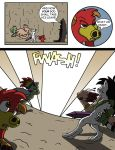 Flare and Fire: Good and Evil Pg 54 by oogaboogaz