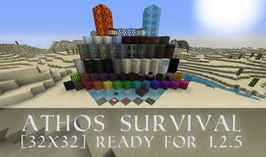 Athos Survival Texture pack(OLD) by Jaacqs