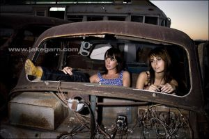 Thelma and Louise? by jakegarn