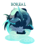 Boreal- Toil adopt auction- closed by Belfryluna
