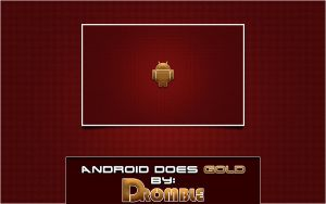 Droid Does Gold by Dromble