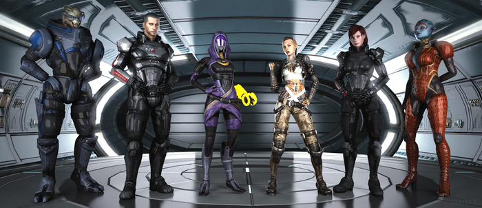 Mass Effect by James--C