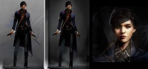 Emily Kaldwin _Dishonored 2 by SiriCC