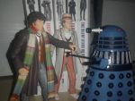 2 Doctors, Some Books, and a Dalek by hntr0829