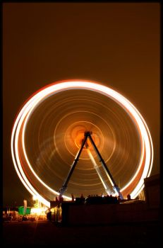 spinning light by ssilence