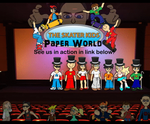 The Skater Kids: Paper World by leduc-gallery