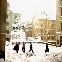 One of the square in 1940s by Linnea-Rose