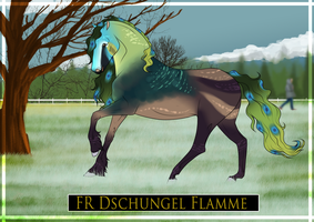 FR Dschungel Flamme by jodifarrow22