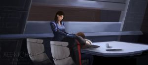 Mass Effect:  Out Cold by Armesan