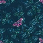 Mint fields and butterflies by ElenaNaylor