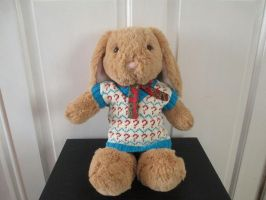 Doctor Who: 7th Doctor Sweater Vest (w/ Rabbit) by fourthimbles