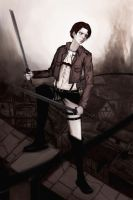 Attack on titan - Levi by yan-r