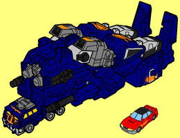 Megas XLR - Vehicle mode by AsswhompSupreme