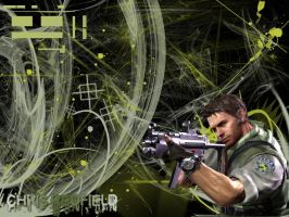 Chris Redfield by Deviously-Pink