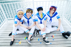 Free! - All together by XII12