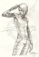 Davey Havok and the breeze by Drawingremy