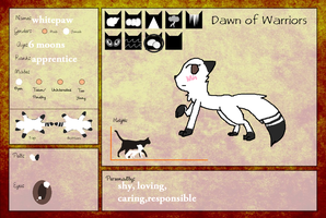 Whitepaw by theangelettes2467