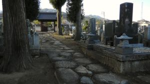A Japanese Graveyard Stroll by JeanneABeck