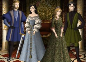 Kings and Queens or Narnia by GingerLass0731