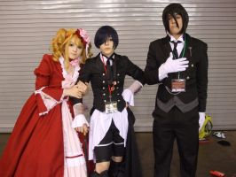 Cast from Black Butler (Cosplay) by Gear-of-Ren