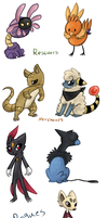 All my teams by MelNathea