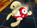 Adorable Custom Shuckle Plush by WolfyWardark