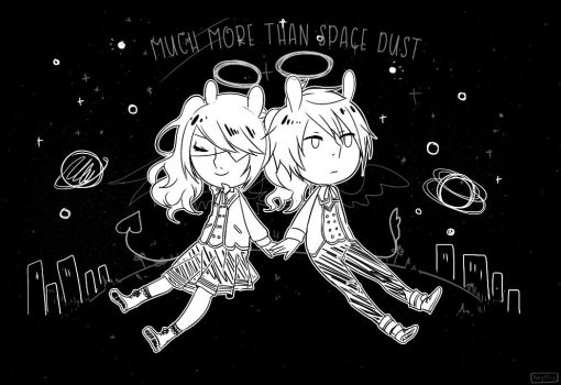 Much More Than Space Dust by NagisaFelicia