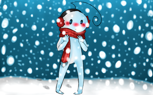 Cry - Snow by PlatinumPoinsetta