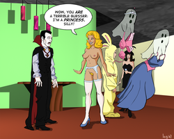 Halloween Party by legmuscle