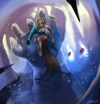 Khionneres' Icy Grasp by Atmadog